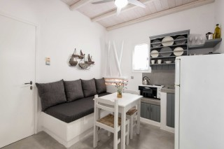 apartment with sea view to kyma kitchen