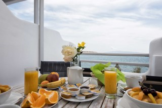sea view apartment to kyma breakfast