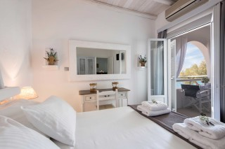 two bedroom apartments sea view to kyma bedroom